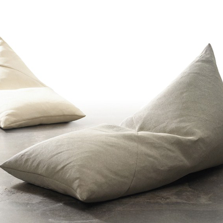 Triangle Style Bean Bag Linen