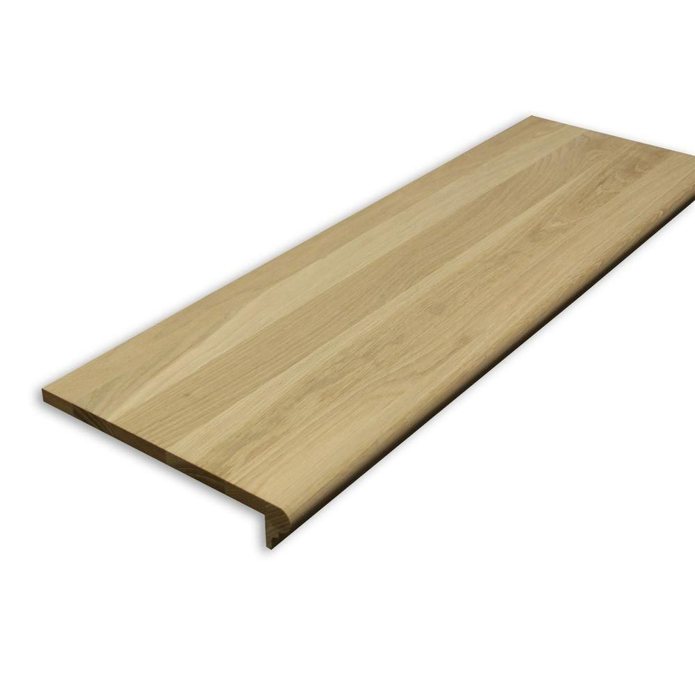 Best Stairtek 625 In X 11 5 In X 42 In Unfinished White 640 x 480