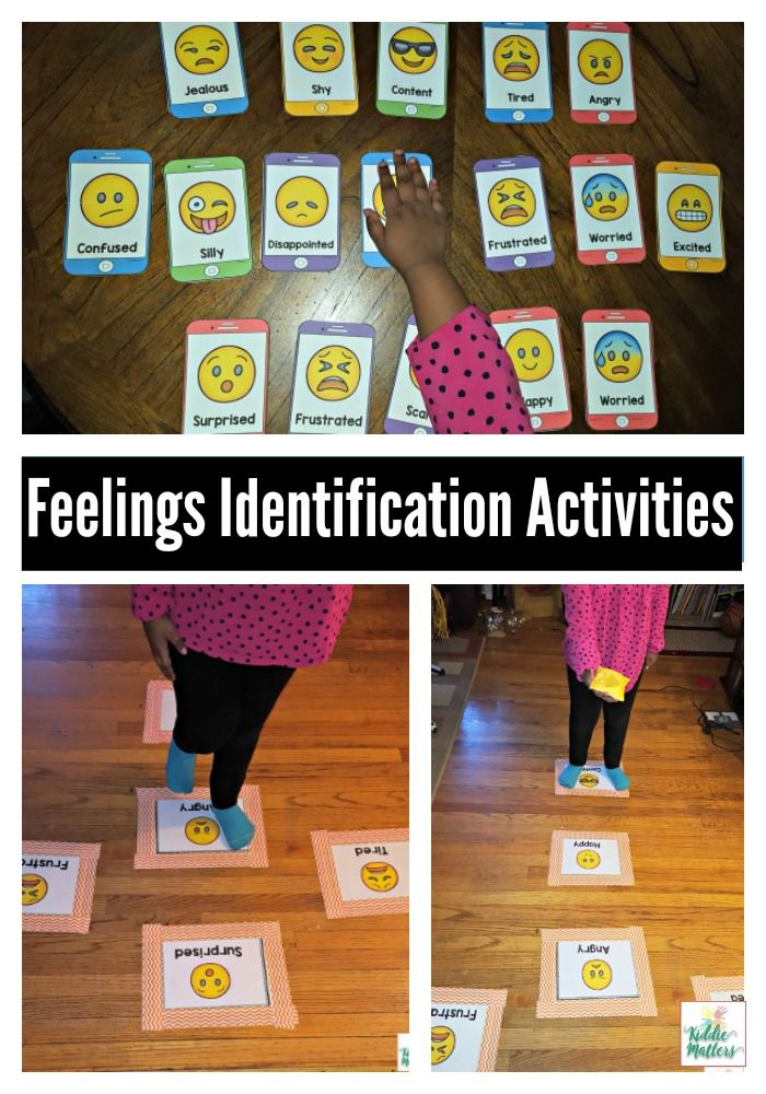 Emotion Regulation: Feelings Identification Activities #emotionalcontrol