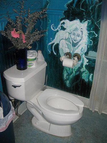 outstanding bathrooms ocean theme | The underwater themed bathroom at Rimsky's Korsakoffee ...
