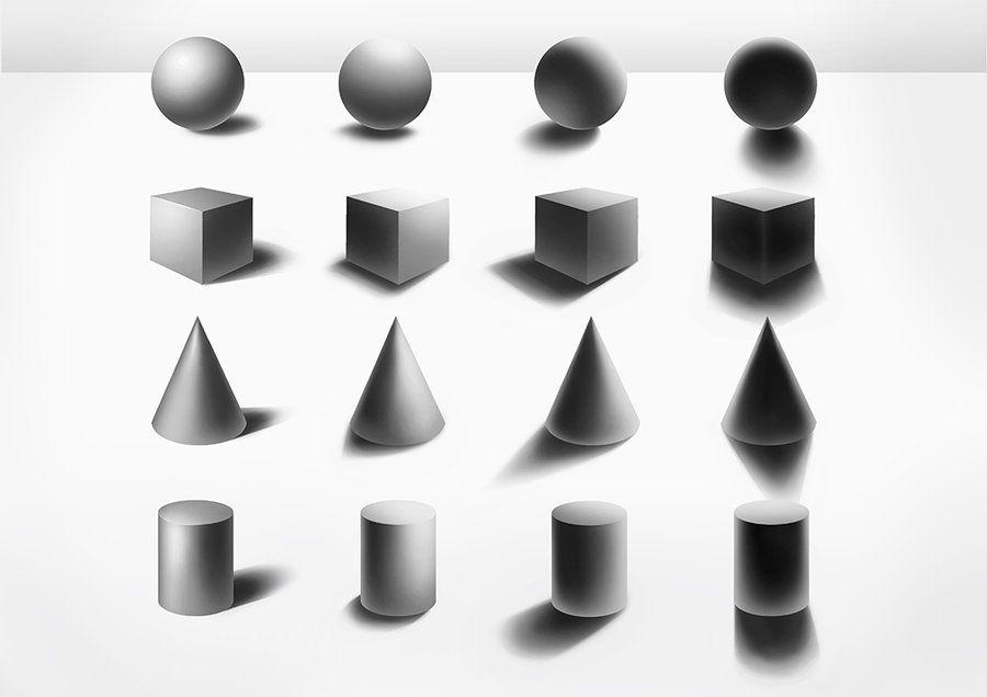 Back To Basics: Shading Basic Shapes By Sjea.deviantart