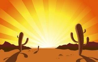 cactus in desert sunrise clipart pinterest graphic art rh pinterest com Sunrise Clip Art Black and White Ocean Clip Art