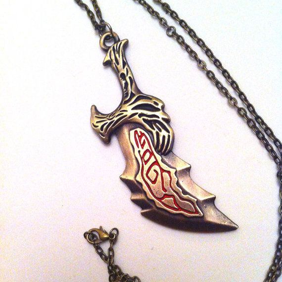 God Of War Kratos Blade Necklace God Of War Cosplay