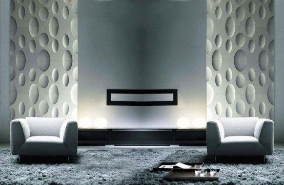 Interior, Composite Decorative Fabric Wall Panels Frp Metal ...