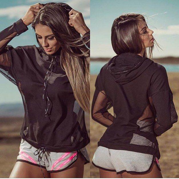 Chegou meninas!! Blusa Black Fleece. Perfeita para uso fitness ou casual. Com tecnologia stretch.  Shorts Superhot Pink Stripes. Possui dois bolsos frontais e detalhes em elástico personalizado Superhot!  Estoque limitado! Corre garantir o seu.  _______________________________________  http://ift.tt/1PcILpP Whatsapp: 41 9144-4587  Parcele em até 4x sem juros via Pagseguro  8% de desconto para pagamento a vista via depósito/transferência (compras via whats ou direct).  Frete grátis nas…