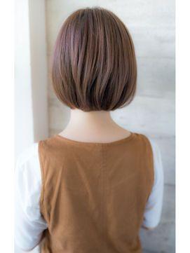 後ろ姿も美人な ショートヘア ボブカタログ 2017髪型 Naver