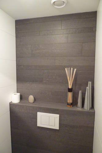 keramisch parket in de badkamer - Google zoeken | Open opbergruimte ...