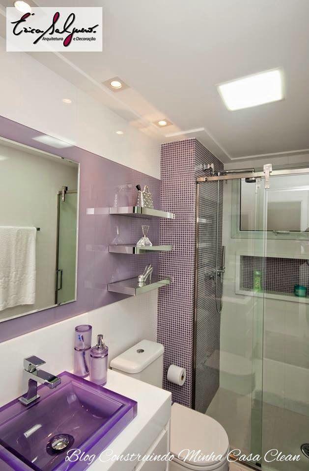 Banheiros e Lavabos Pequenos!!! Saiba como Decorar! Lavabos - lavabos pequeos