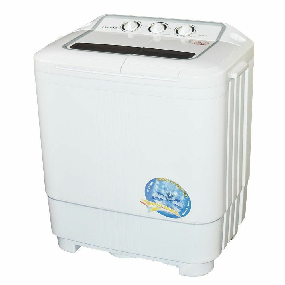 Ebay Sponsored Panda Xpb36 Compact Freestanding Portable Washing Machine With Spin Dryer White Portable Washing Machine Mini Washing Machine Portable Washer