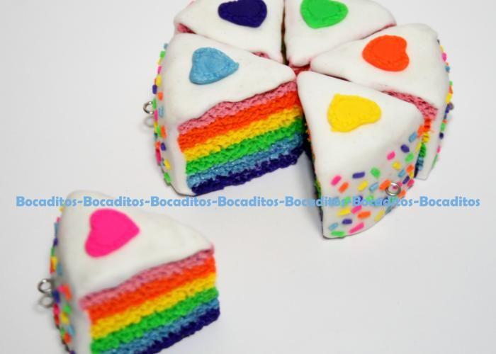 Bocaditos: Pastel arcoiris - Kichink!