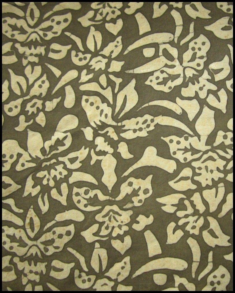 Orchid Cascade Natural Plant Dye Block #Batik