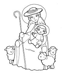 Resultado De Imagen Para Divina Pastora Coloring Pages Colorful Pictures Madonna And Child