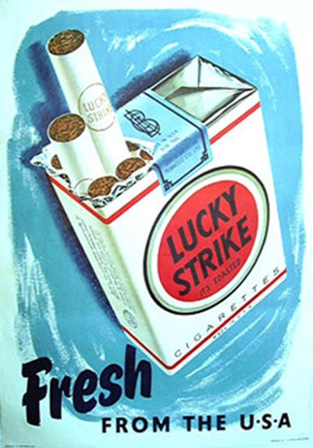 Lucky strike cigarettes without filter his store cigars and more