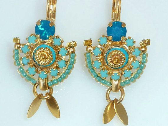 Ocean goddess earrings small chandelier earrings by inbalmishan ocean goddess earrings small chandelier earrings by inbalmishan aloadofball Gallery