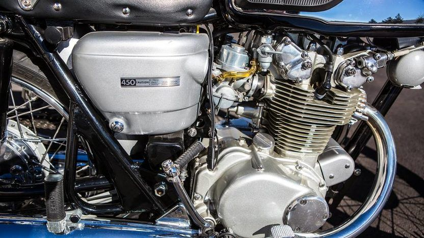 1966 Honda CB450 Black Bomber T31 Indy 2015 di 2020