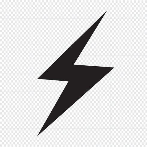 Lightning Icon Symbol Sign Vector Icons Illustration Symbol Drawing Symbols
