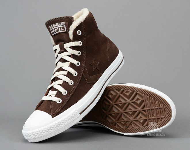 converse star player hi shearling