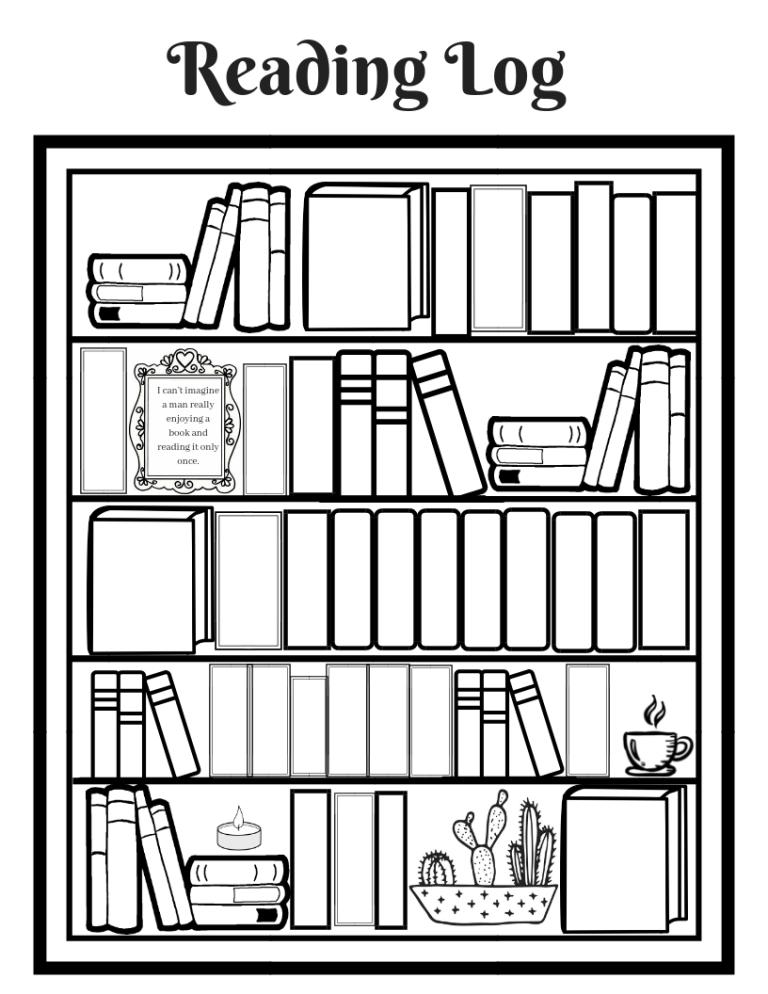 Printable Reading Log Reading log printable, Reading