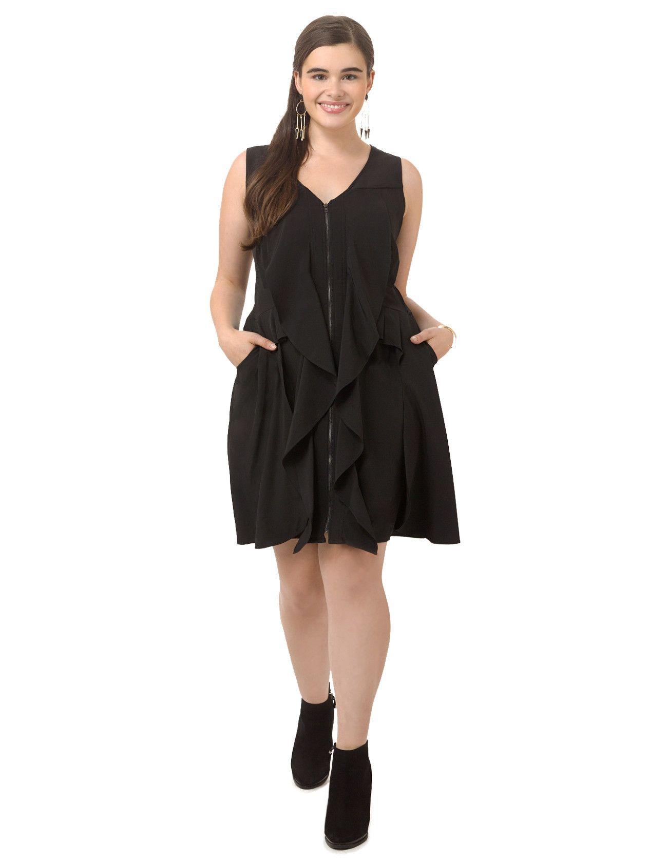20++ Black ruffle tunic dress ideas