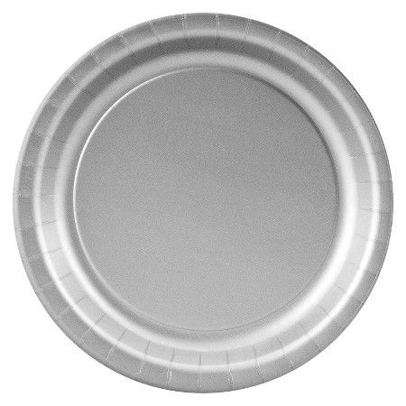 Shimmering Silver Paper Dessert Plates - 24 count  Target  sc 1 st  Pinterest & Shimmering Silver Paper Dessert Plates - 24 count : Target ...