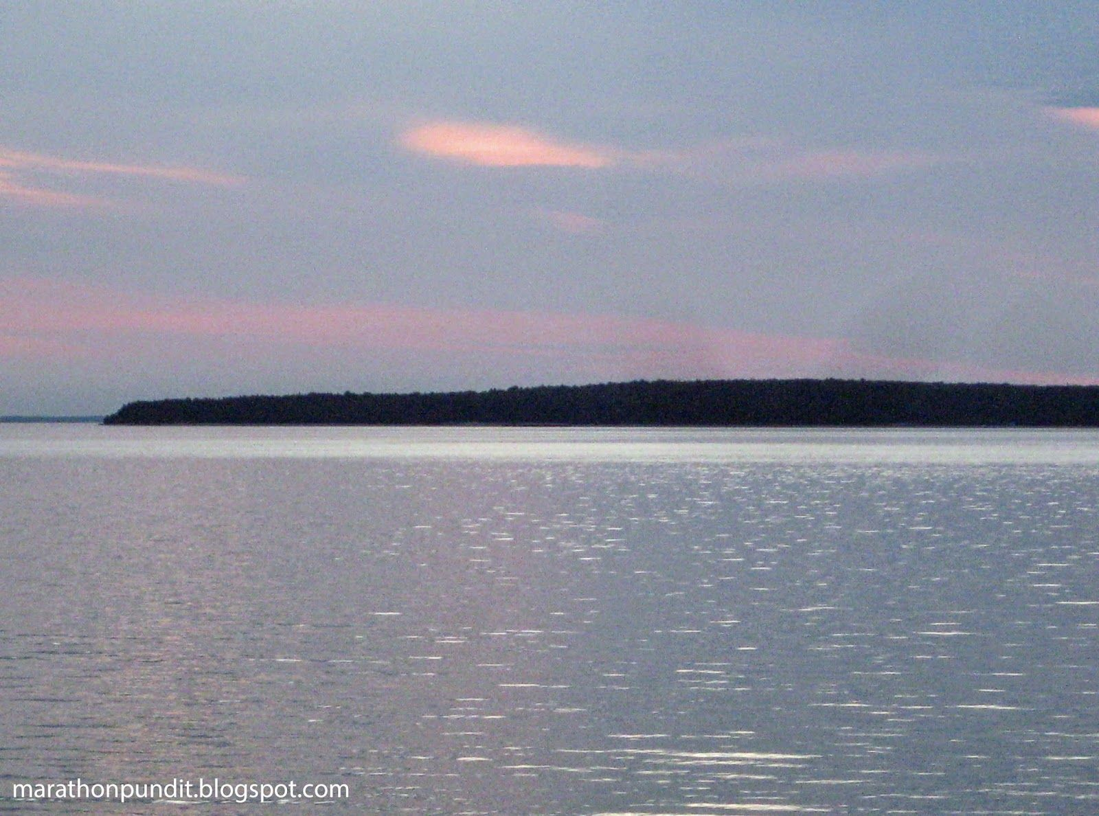 Lake Huron at St. Ignace, Michigan