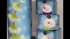 navidad pintura countri - YouTube