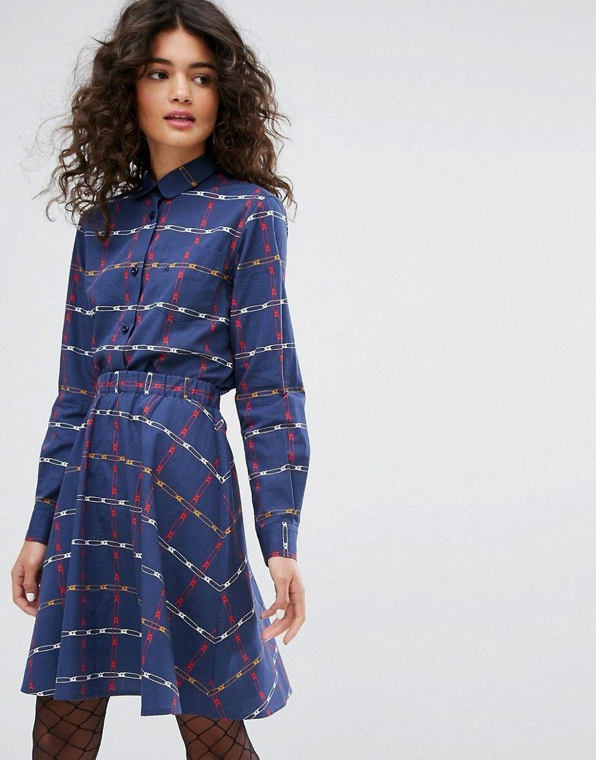 Womens Technical Poplin Casual Dress Sonia Rykiel E8xaSPOJ