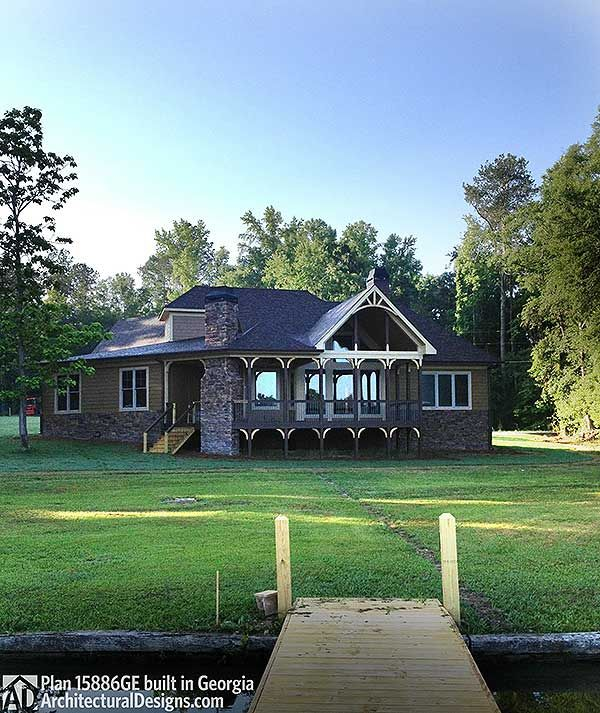 Plan 15886ge Classic Hip Roofed Cottage With Options