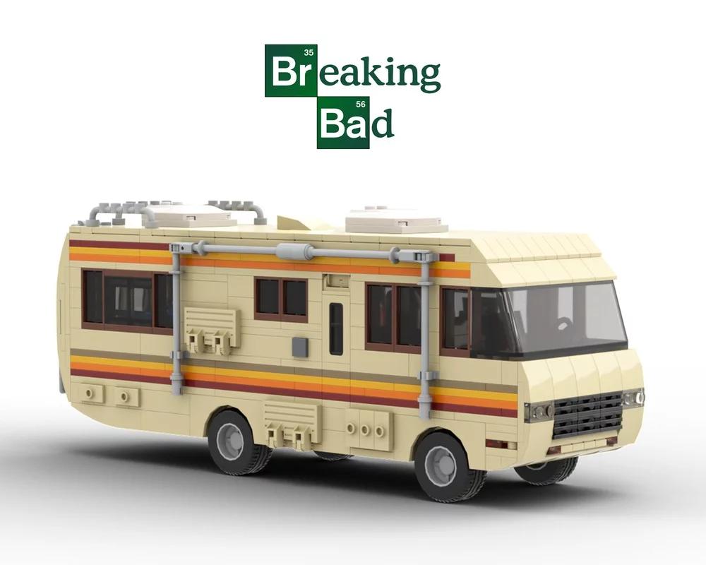 Breaking Bad Rv Fleetwood Bounder Breaking Bad Lego Building Instructions