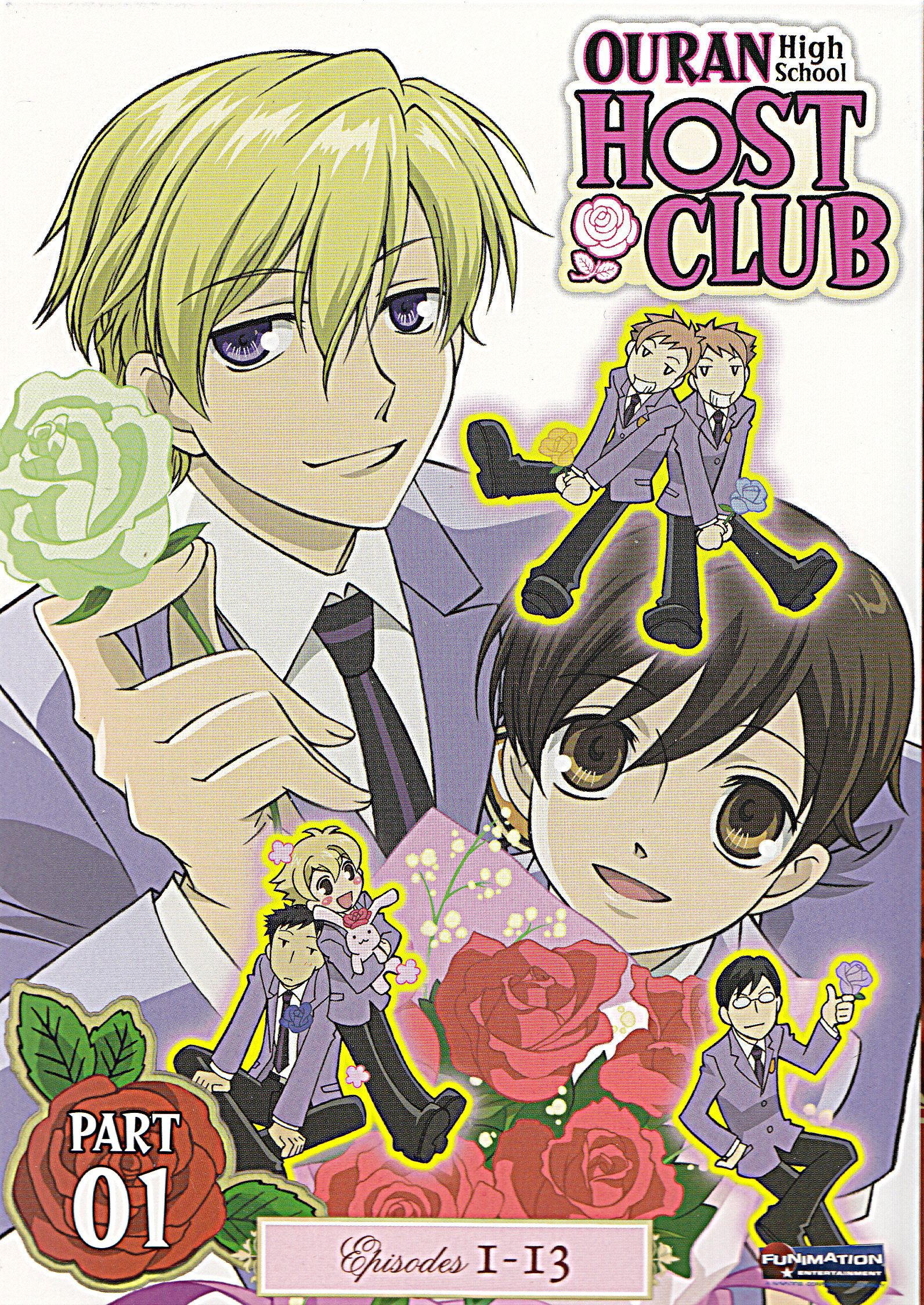 Ouran High School Host Club Anime Review High school