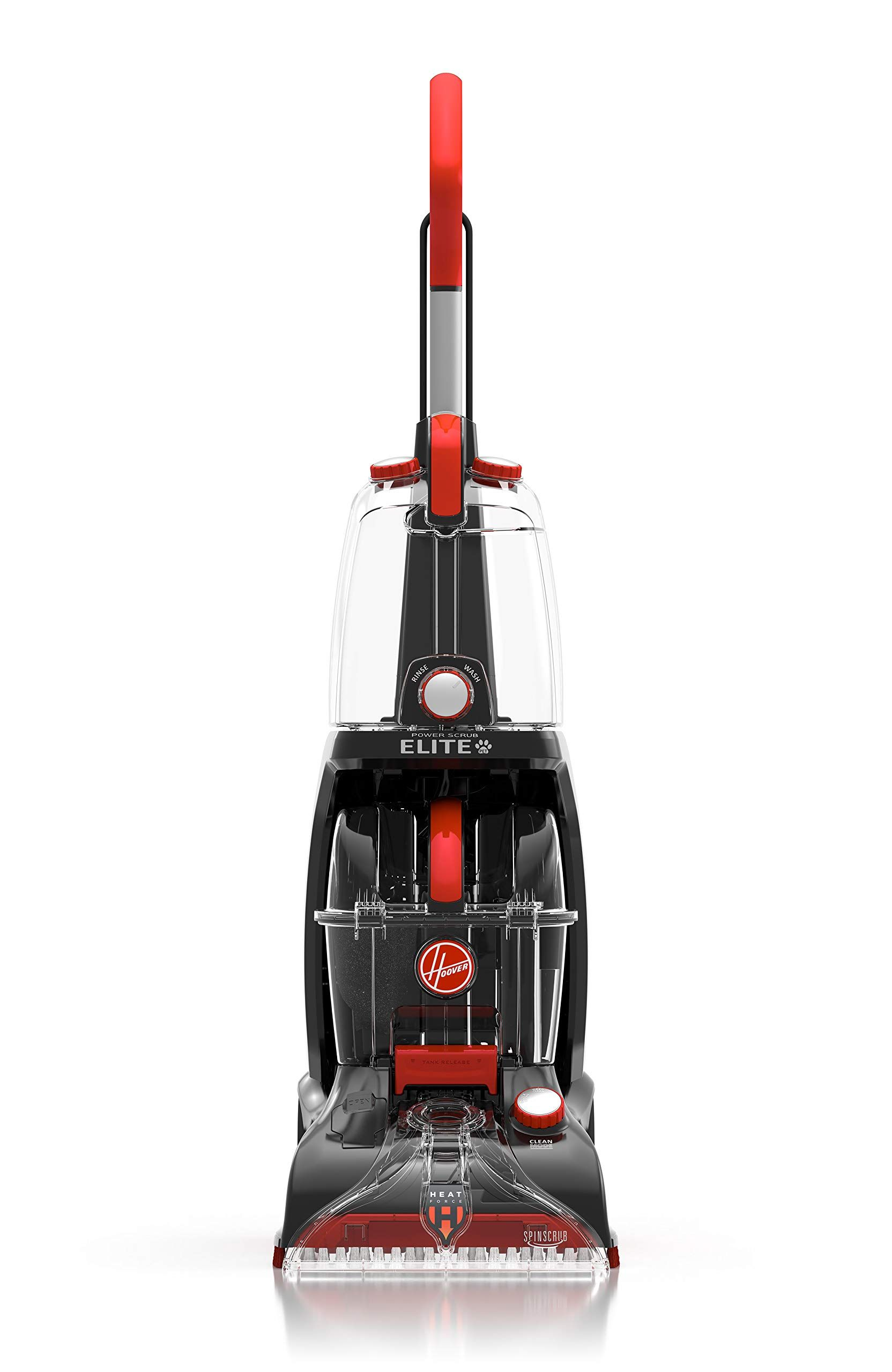 Hoover Power Scrub Elite Pet Upright Carpet Cleaner And Shampooer Lightweight Machine Red Fh50251pc In 2020 Pet Carpet Cleaners Carpet Cleaners How To Clean Carpet