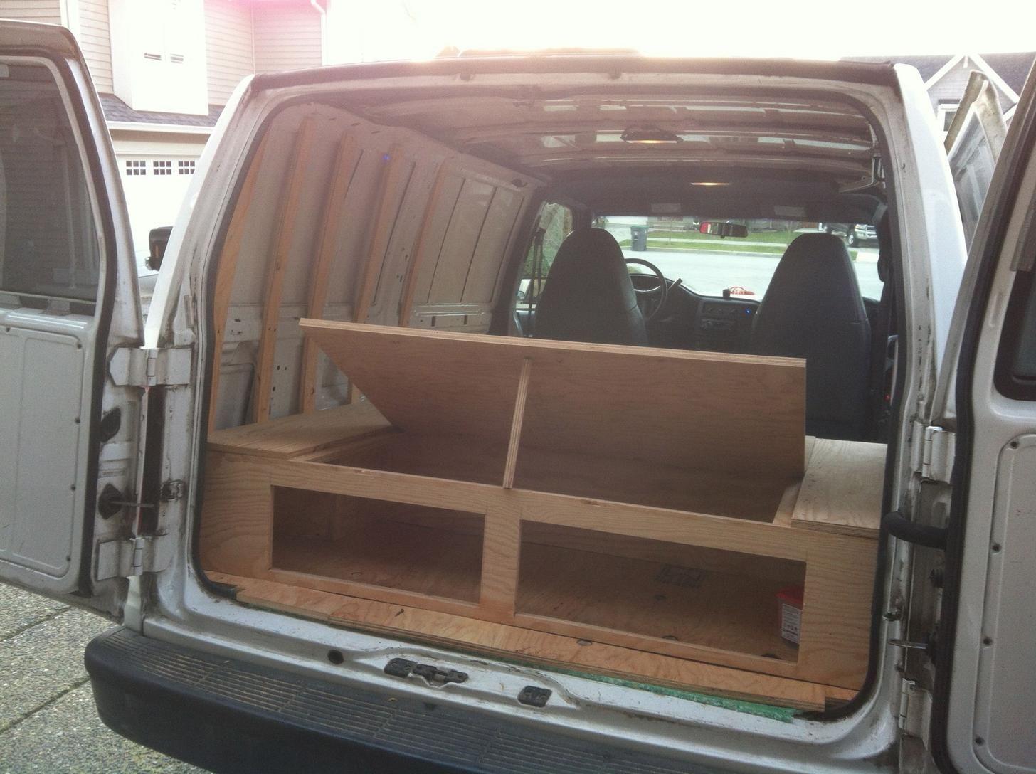 Photo of Donovan the Chevy Astro Van