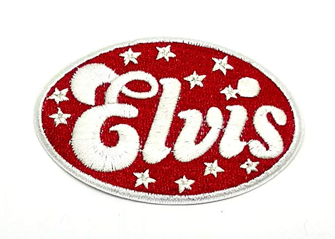Amazon Com Wasuphand Elvis Presley Rock N Roll Songs Patch Sew Iron On Embroidered Heavy Metal Black Indy Music Applique Rock And Roll Songs Heavy Metal Elvis