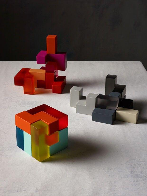 Formas orgânicas e cores alegres no design (Foto: Earl Carter / divulgação)