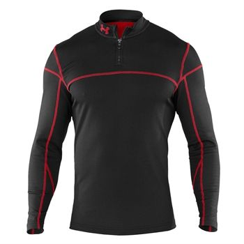Under Armour Coldgear Thermal 1 4 Zip Base Layer Vonmaur Mens Sportswear Under Armour Coldgear Mens Outfits