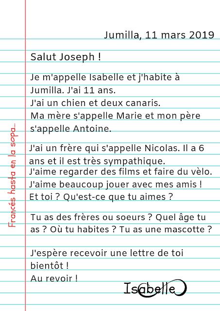 Francés Hasta En La Sopa Ma Première Lettre Uñas
