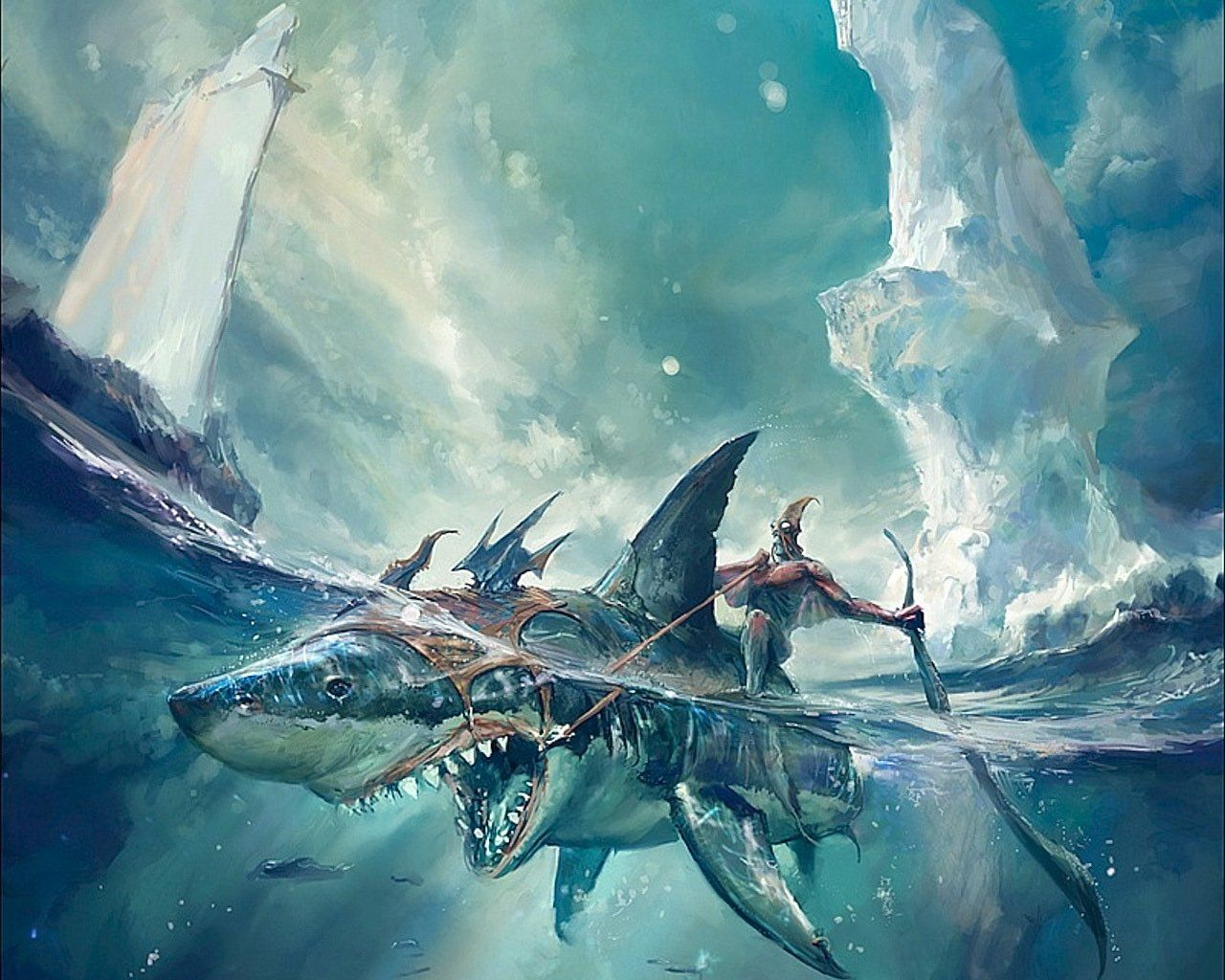 Creatures Fantasy Wallpapers Riding References Art