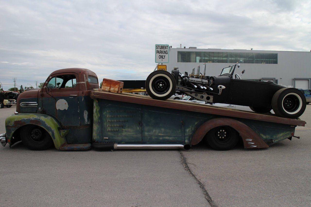 F1 Ford COE roll off/car hauler slammed and chopped. & F1 Ford COE roll off/car hauler slammed and chopped. | Vehicles ... markmcfarlin.com