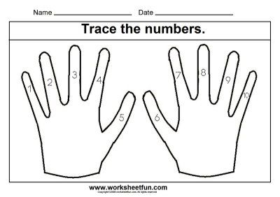 Number Names Worksheets tracing numbers worksheets : Number Names Worksheets : tracing numbers 1 to 10 ~ Free Printable ...