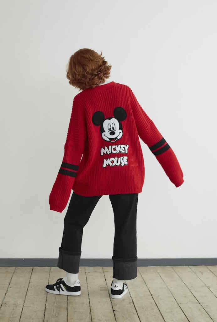 This Lazy Oaf Collection Features All Your Disney Faves | red Mickey Mouse sweater | 90s inspired fashion | [ http://di.sn/600588osJ ]