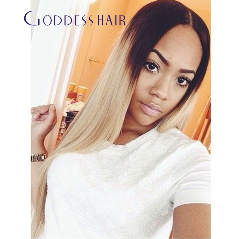 Online Buy Wholesale Black Root Honey Blonde Hair From China Black
