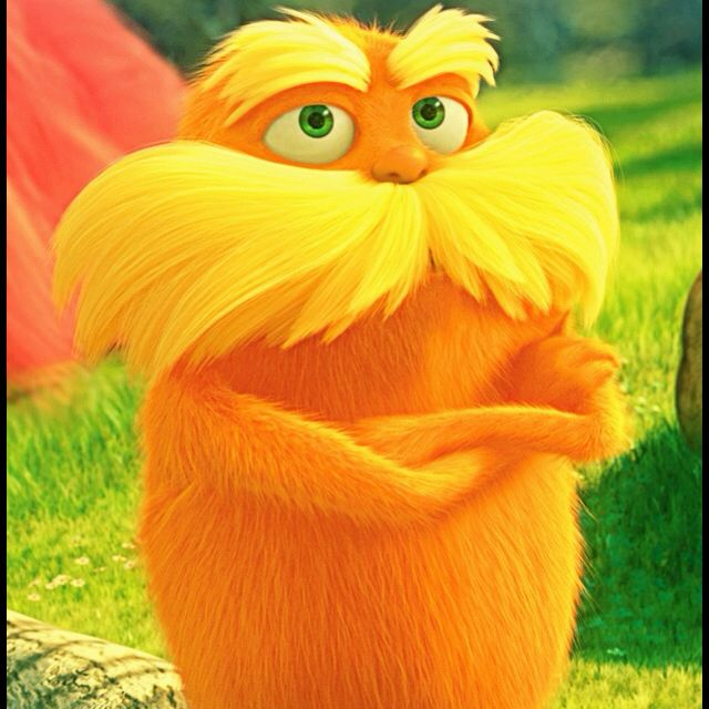The Lorax pic I edited. | The lorax, Childrens movies, Seuss