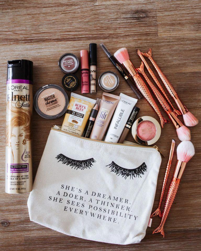 The BEST drugstore makeup roundup! Mint Arrow