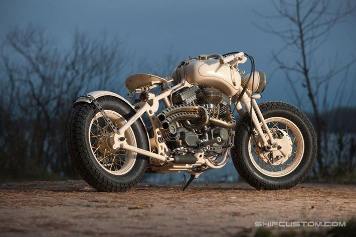 Customized Gustav Skippone Bobber