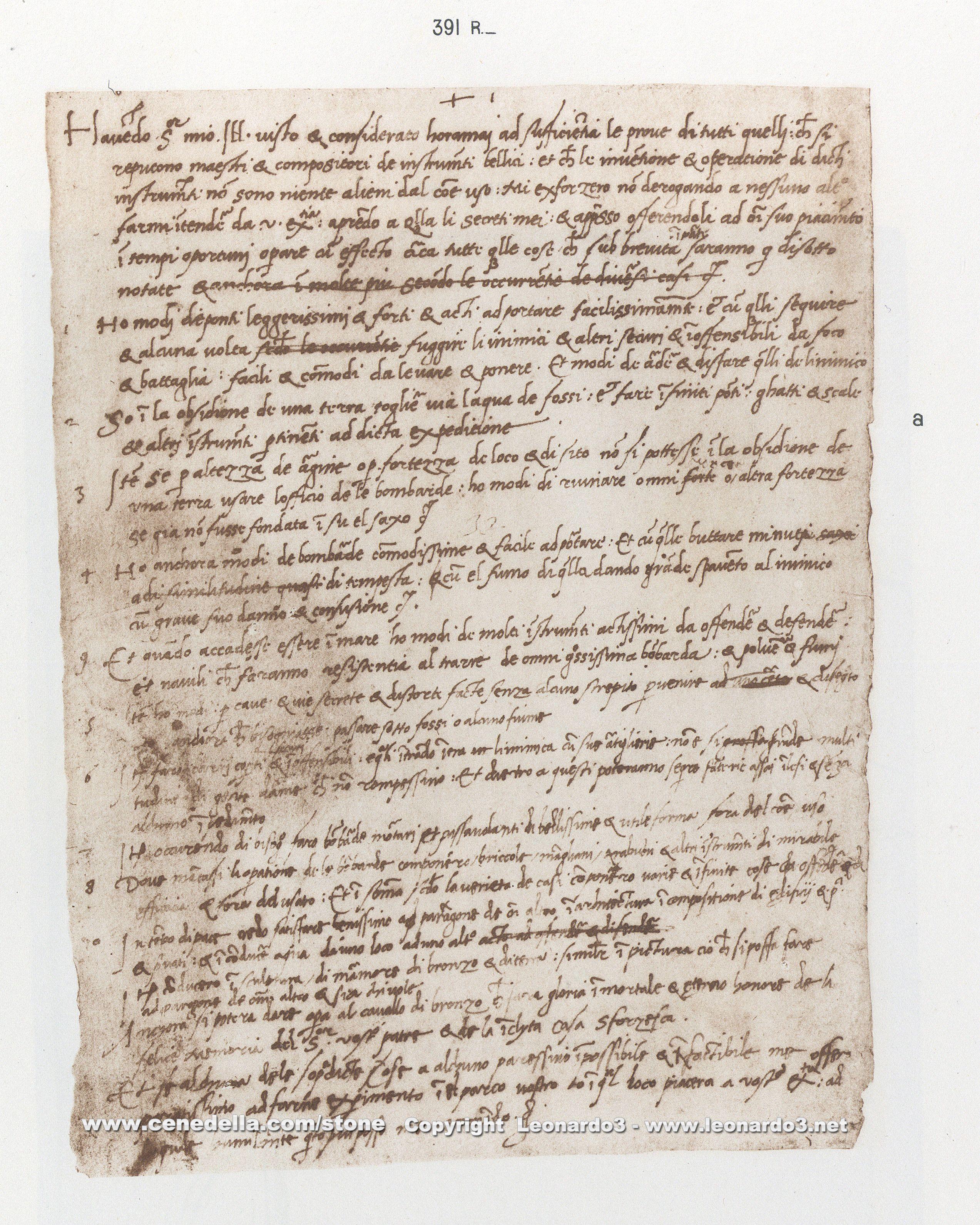 leonardo da vinci inventions the translation of this letter is quite remarkable - Leonardo Da Vinci Lebenslauf
