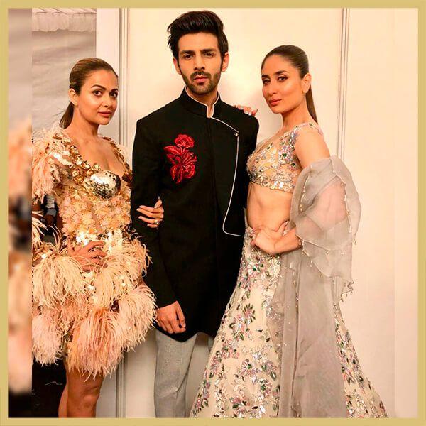 Kareena Kapoor Khan, Kartik Aaryan, Manish Malhotra Showstoppers ...