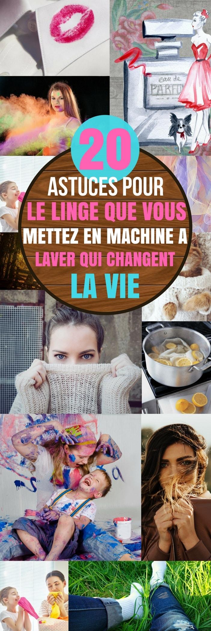 machine a laver : 20 astuces qui changent la vie ! | trucs et