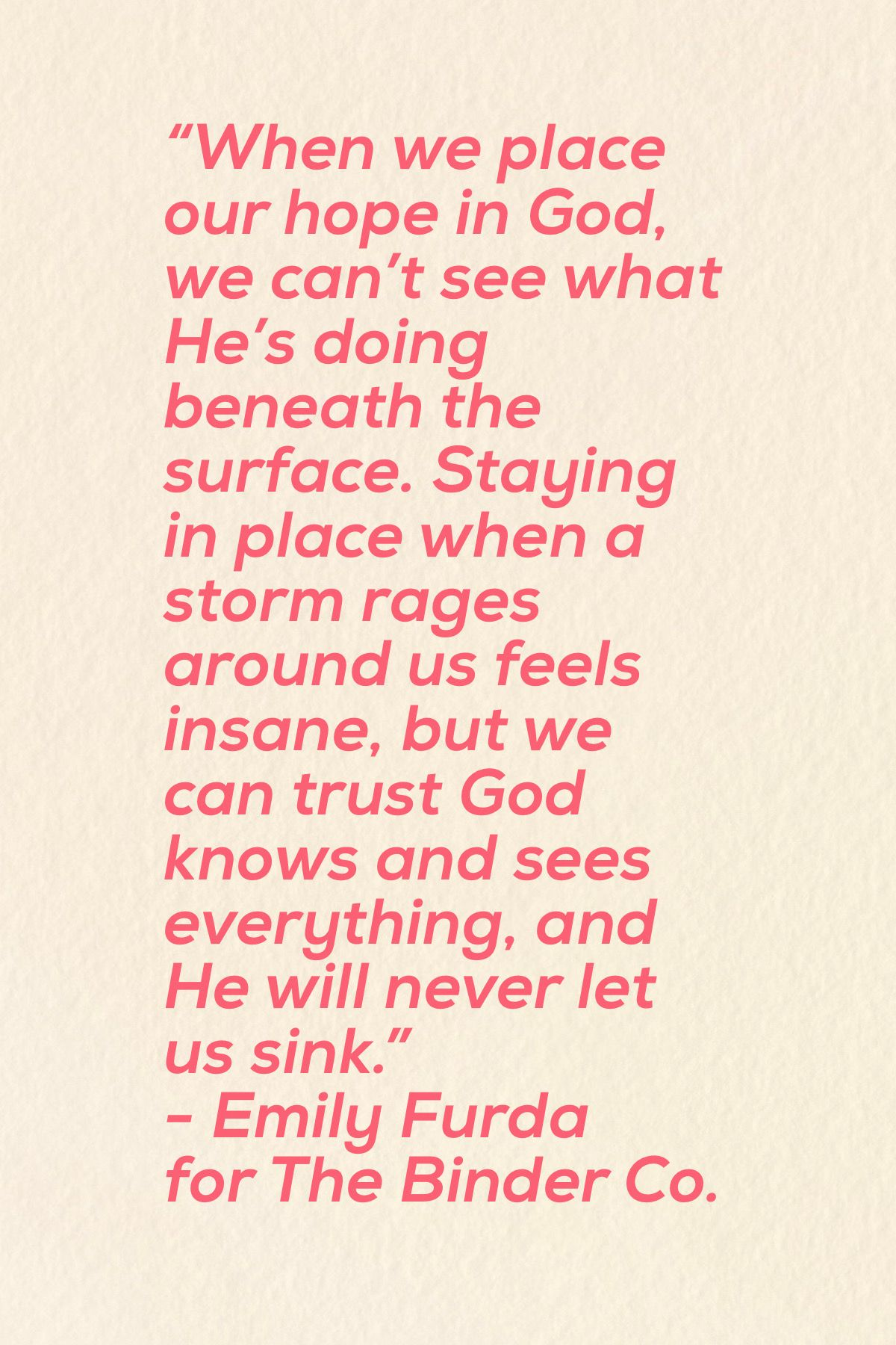 Hope Anchor For Our Soul Depression Strength Christian Quotes