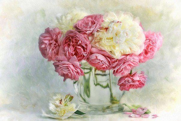 Salvador Artstudiya Idei Tvorchestvo Podarki Floral Painting Flower Art Rose Painting