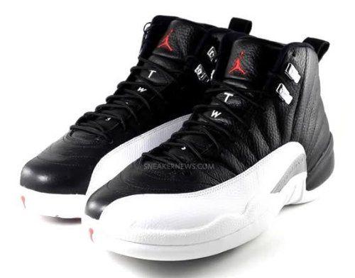 14043795a7db81 Nike Air Jordan 12 Retro XII Playoffs White Black Red 2012 QS 130690 ...